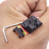 Fiber Optic Front Sight / Rear Combat Glock Sight Black for Glock Red Dot Sight Tactical Hunting Excellent Metals