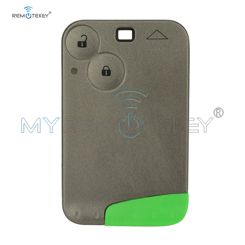 Smart Car Key Card For Renault Laguna 2 button smart remote card 2001 2002 2003 2004 2005 2006 433 Mhz ID46 - PCF7947 Remtekey