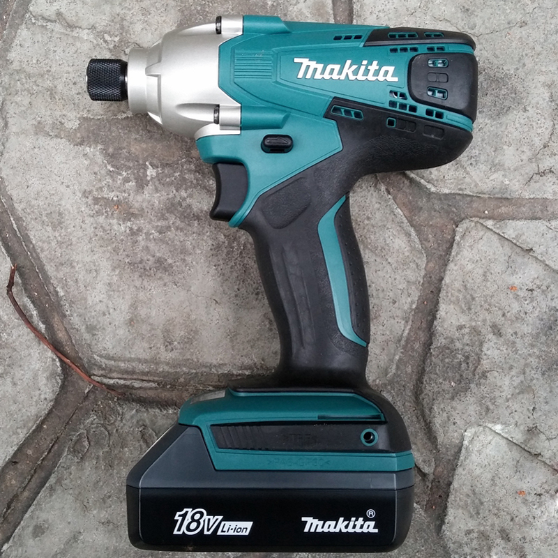 makita 18v lithium battery series tool cordless impact screwdriver 3000ipm 2300rpm in electric. Black Bedroom Furniture Sets. Home Design Ideas