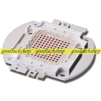 100W 24V 3500mA Square Base Deep Red 660nm SMD LED Grow Plant Light Parts