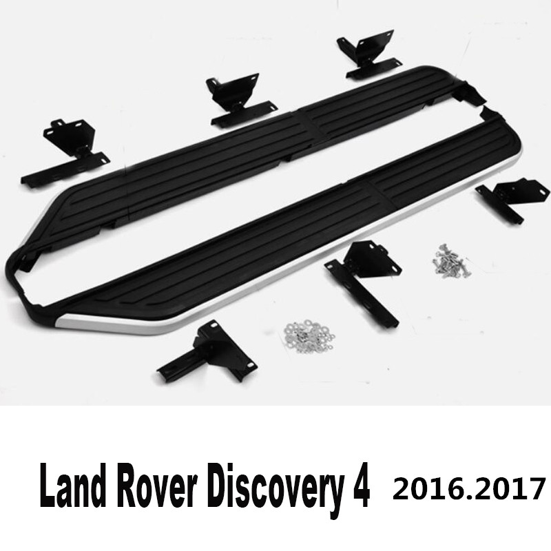 Car Running Boards Side Step Bar Pedals For Land Rover Discovery 4 LR4 2016.2017 High Quality New Original Design Nerf Bars ...