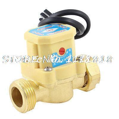 26mm Female Thread 120W Power Circulation Pump Water Heater Flow Sensor Switch ksol new style 26mm 3 4 pt thread connector 120w pump water flow sensor switch