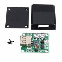 DIY 5V 2A Voltage Regulator Junction Box Solar Panel Charger Special Kit Module For Electr