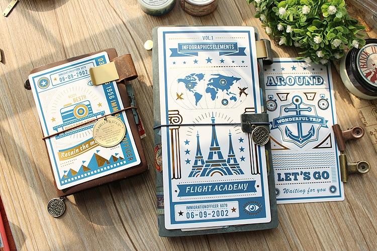 Jamie Notes Original Folie Skrivmatta För Midor Traveller Notebook - Block och anteckningsböcker - Foto 4