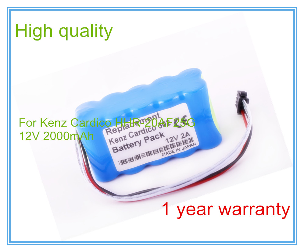 ECG Battery Replacement For 302,HHR-20AF25G1 10TH-1800A-W1 SU High Quality Medical equipment batteries