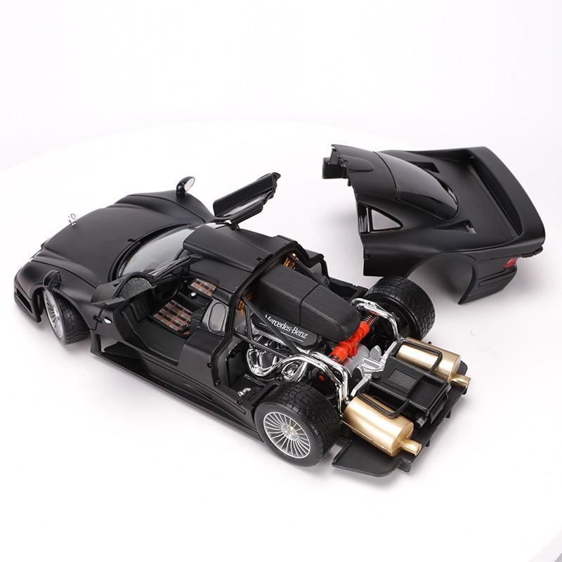 Maisto 1:18 Diecast Metall Auto spielzeug Modell Für Benz CLK GTR Sammlung Auto Modell Für Mann Geschenk Mit Original Box-in Diecasts & Spielzeug Fahrzeuge aus Spielzeug und Hobbys bei  Gruppe 2