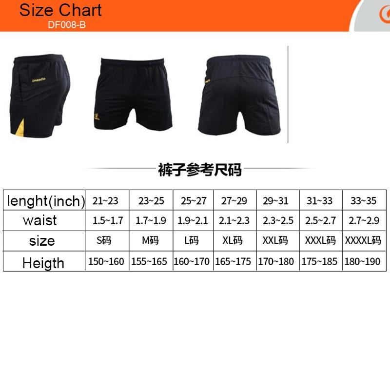 Shorts de tênis de mesa