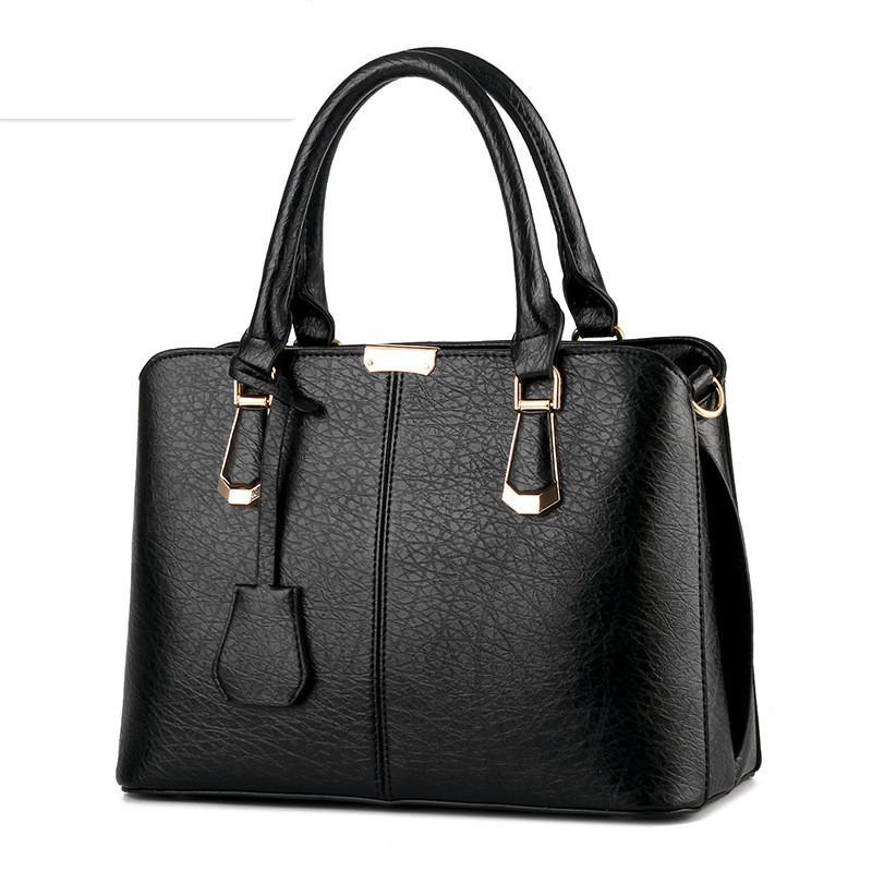 2017 Women Leather Handbags Hot Medium Shoulder Bags Luxury Women Messenger Bag Famous Brands Female Tote