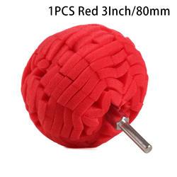 3 дюйма 80 мм Полировка Pad Авто полировальником комплект буфера + дрель адаптер для автомобиля полировщик Электрический пачка сверл