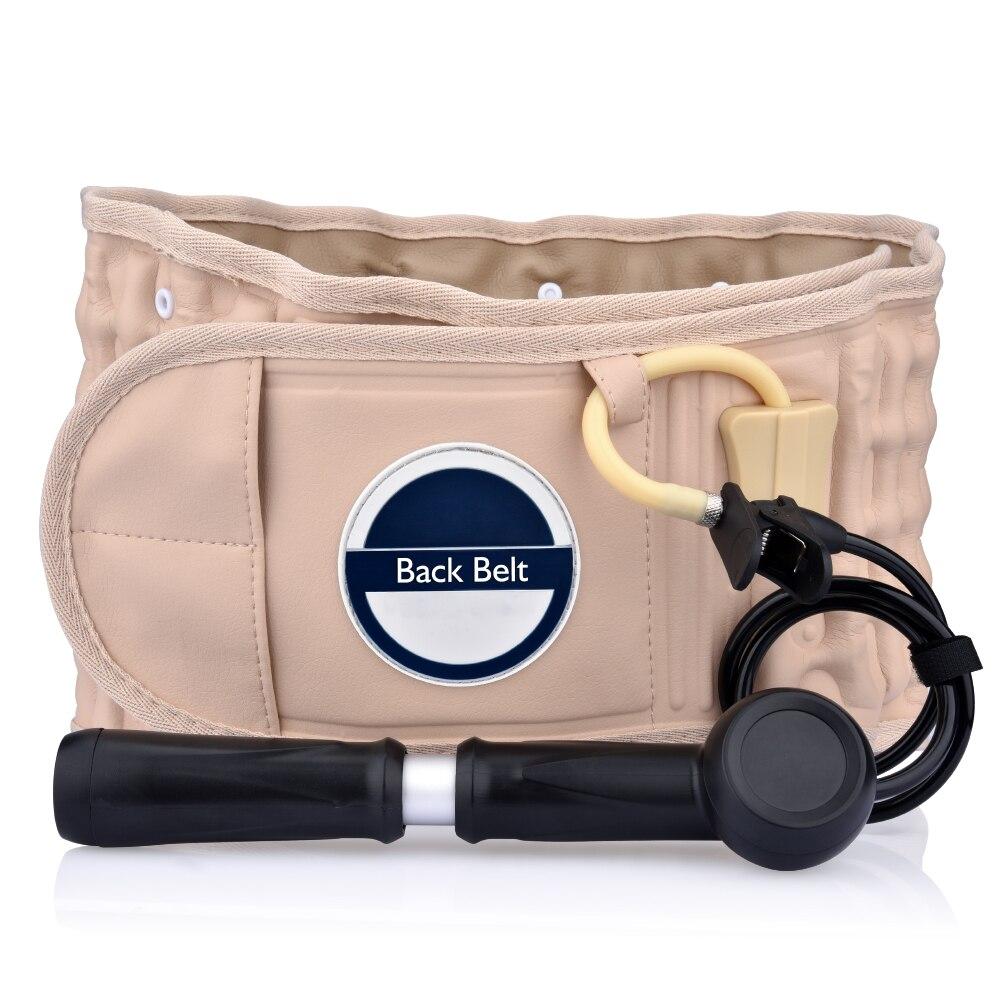 Décompression dos soulagement taille Traction orthèse de soutien ceinture soin mal de dos thérapie thermique douleur masseur os outil de soins de santé