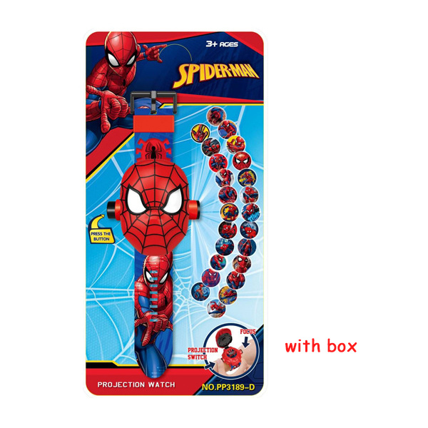 24Spiderman with box
