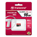 Original Sealed Real Transcend 16GB 32GB 64GB 128GB Class10 UHS-1 400X MicroSDHC  MicroSDXC card 60MB/S UHS-1 TF Memory Card