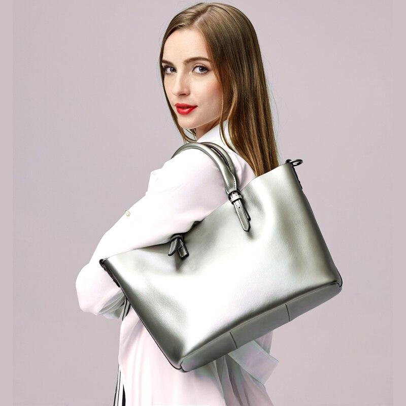 we more Fashion Women Handbags Buckle Security S Surface Positive Trapezium Disassembled Shoulder Straps Messenger Bags
