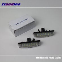 цена на Liandlee For Lexus IS300 IS200 IS 300 200 / LED Car License Plate Light / Number Frame Lamp / High Quality LED Lights