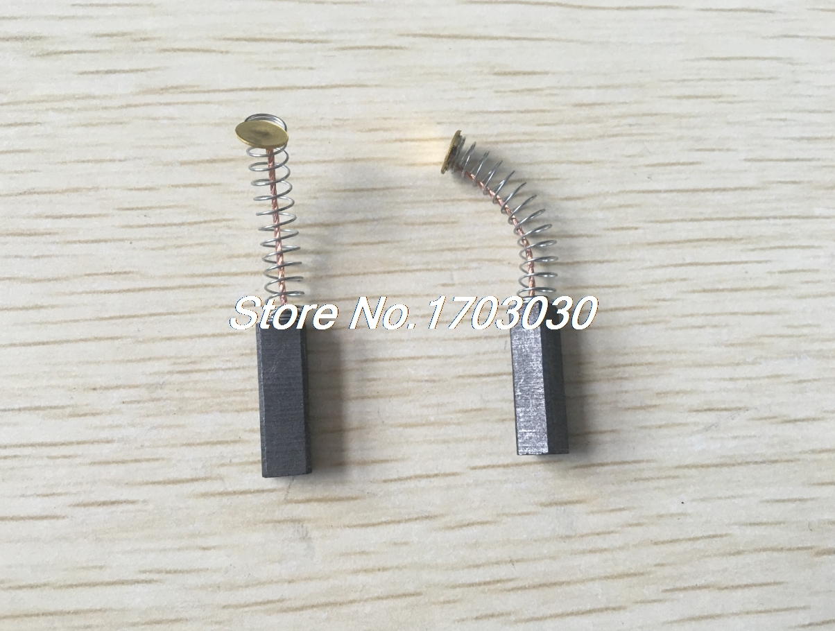 6Pcs 5mm X 6mm X 19mm Carbon Brush For Generic Electric Motor