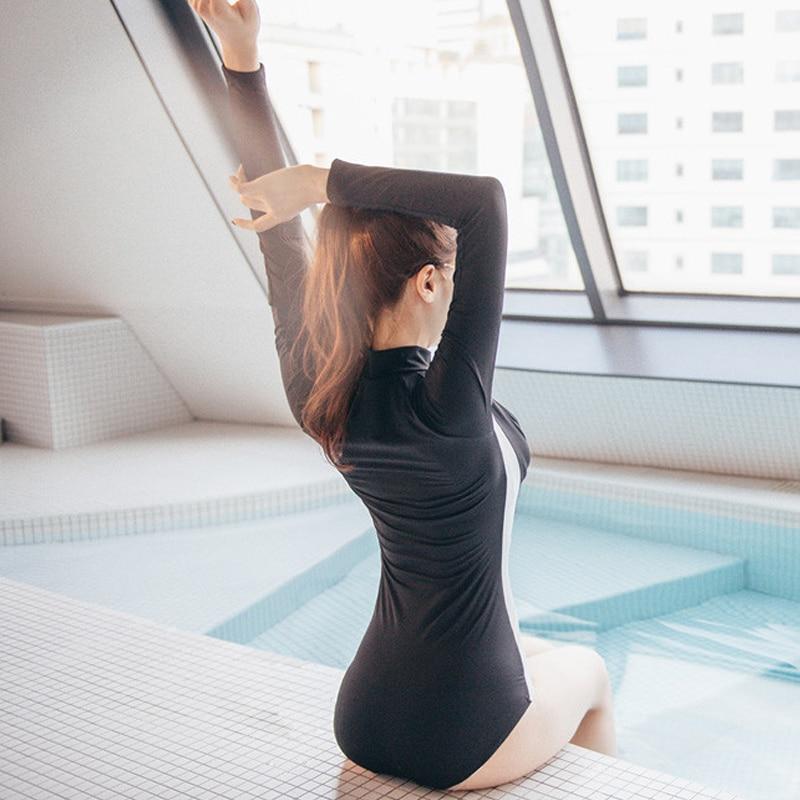 Qadınlar üçün iki hissəli Bikini mayo Spandex & neylon 2017 Yeni - İdman geyimləri və aksesuarları - Fotoqrafiya 6