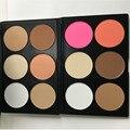 2016 Hot Sale Professional 6 Color Pó Compacto Corretivo Paleta De Maquiagem de Contorno Contorno Do Rosto Cosméticos maquiagem Nude