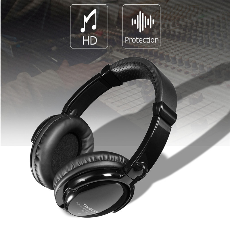 Professional Studio Headphone Monitor Gaming Headphone 3D DJ Stereo Headphones 3.5 mm AU ...