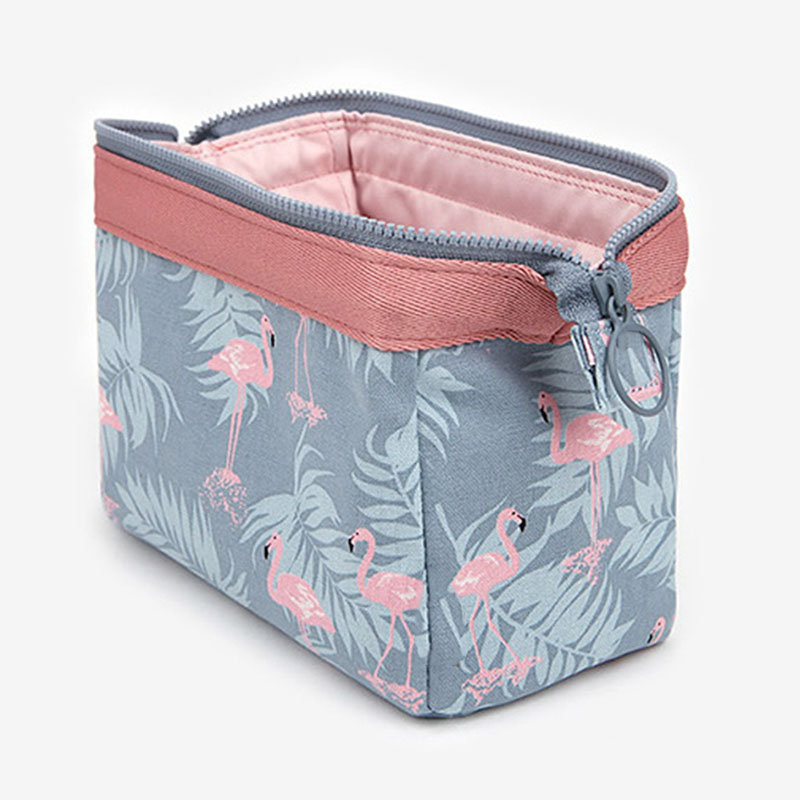 Cosmetic Bag Travel Floral Printed Women Makeup Bags Female Zipper Cosmetics Bag Portable Travel Make Up Case Pouch 1pcs urinal gogirl go girl woman urination device 9 5cm stand up pee fud camping travel portable female tiolet