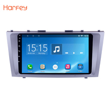 Harfey Car GPS Navigation Radio Multimedia Player for 2007 2008 2009-2011 TOYOTA CAMRY 9″1024*600 touchscreen android head unit