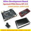 FPGA Demo Board Xilinx Spartan6 XC6SLX9(256M SDRAM)+OV5640 Camera module+USB Download Cable+4.3 inch Display LCD module=KIT-E-D