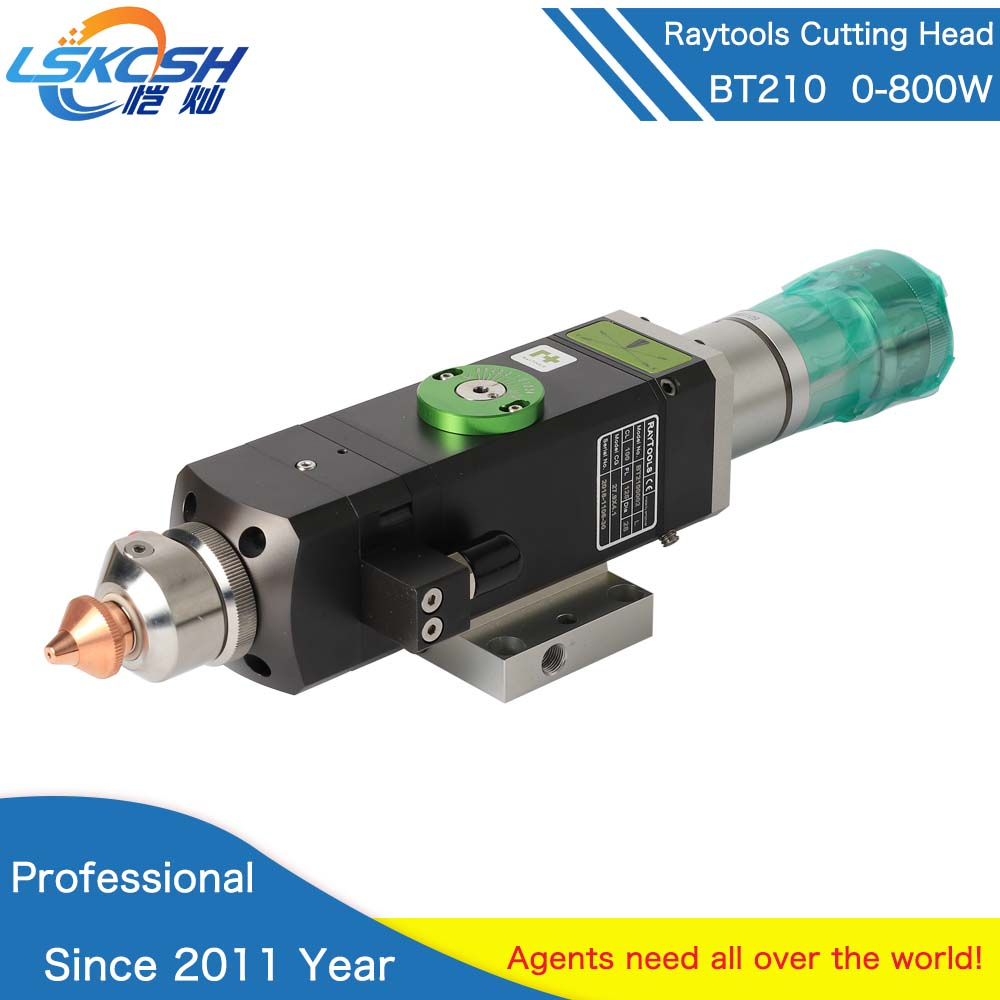 Raytools BT210 0-800 w tête de découpe Laser Fiber pour découpe métal Raytools consommables Laser fournisseur professionnel Laser Fiber