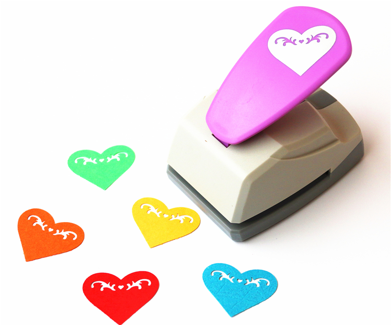 Heart Punch Latest Design Super Save Effort Shaper Craft Punch Scrapbooking Punches Paper Puncher DIY Tools