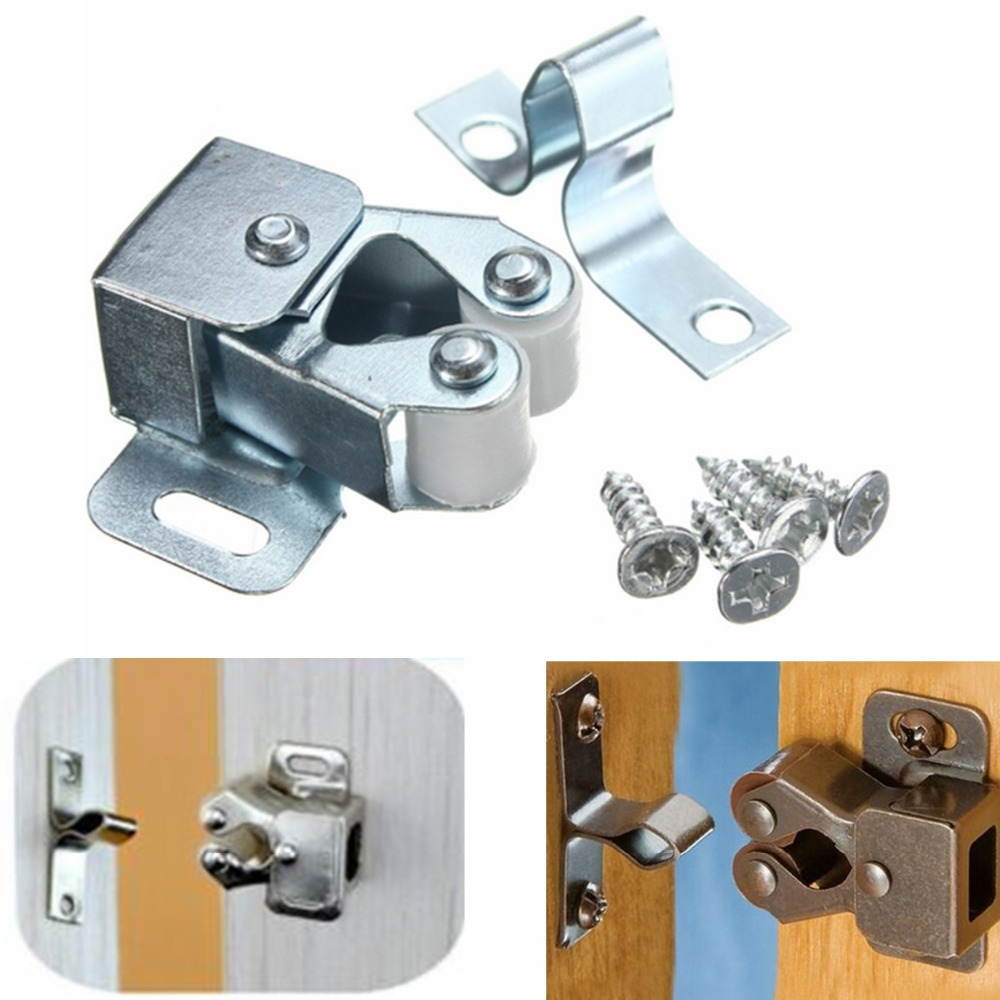 Aliexpress.com : Buy 5Pcs/Set Roller Catch Cupboard Cabinet Door ...