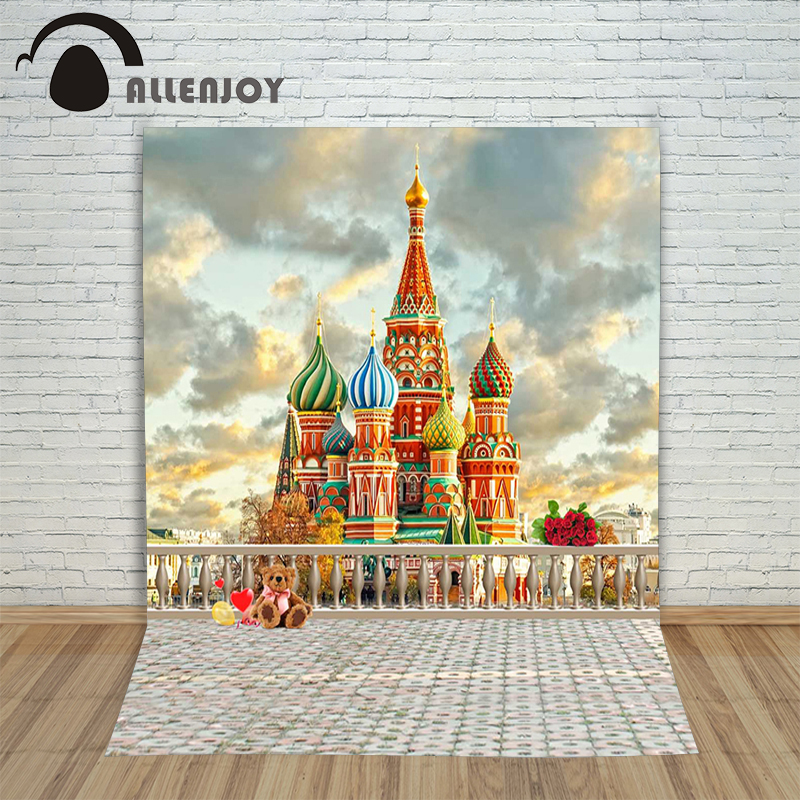 Allenjoy photographic background Dome of the Sky City backdrops newborn wedding scenic photocall 10x20