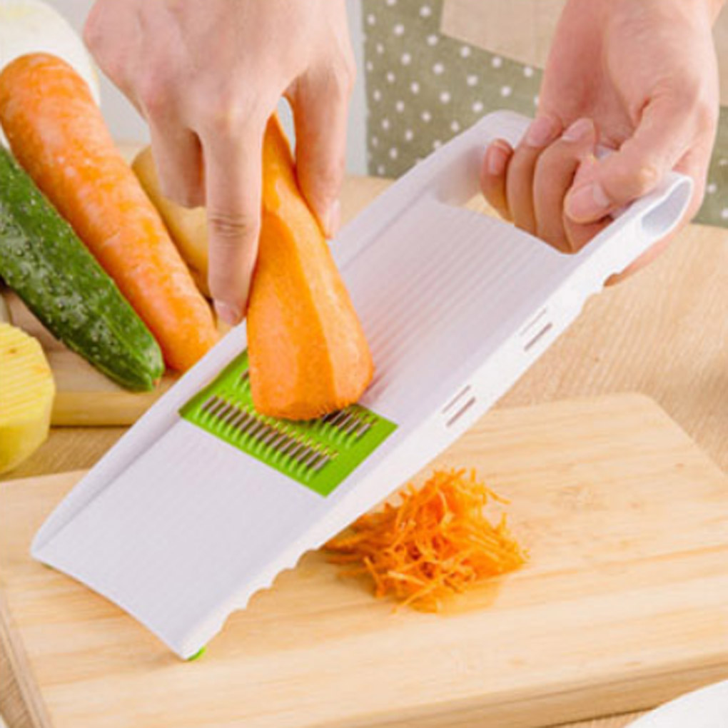Kitchen multifunction shredder is sliced into strips cut potatoes wire grater sets