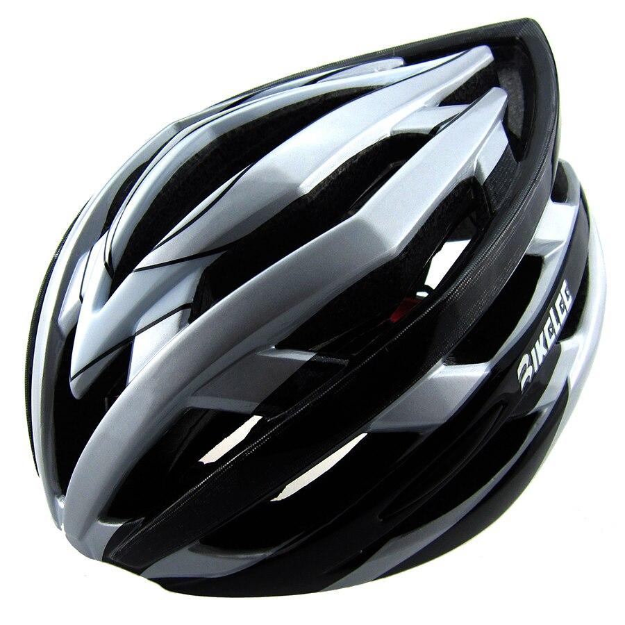 2017 Mens Road Bicycle Helmet Light Led 256g Eps Pc Blue Mtb Bike