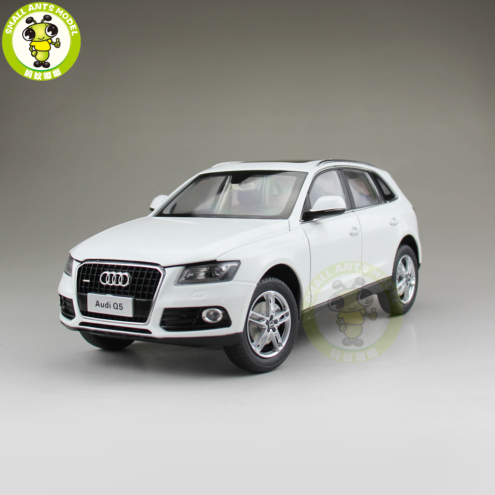1/18 Audi Q5 SUV Diecast Metal Car SUV Model Toy Girl Kids Boy Gift Collection White 1 18 vw volkswagen teramont suv diecast metal suv car model toy gift hobby collection silver