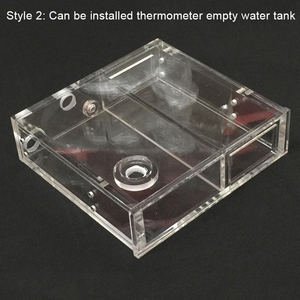 Image 2 - Refroidisseur deau en acrylique Transparent pour ordinateur, radiateur, roue de température, disque CD, disque unique