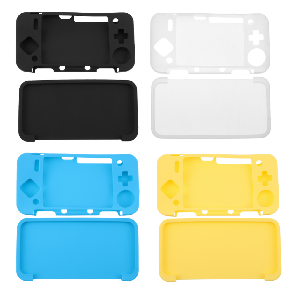 Protective Cover Skins Silicone Gel Rubber Soft Sleeve Case For Nintend NEW 2DS XL NEW 2DS LL Console Protector High Quality