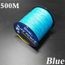 5 Colors Germen Quality Max Power 500m 4 Strands Super Strong Japan Multifilament PE Braided Fishing Line for Lure Sea Fishing