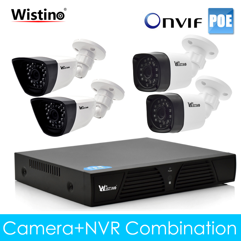Wistino CCTV 8CH NVR Kits XMeye PoE IP Camera 720P 960P 1080P Outdoor Surveillance Video Monitor Kit Security System Onvif Cam