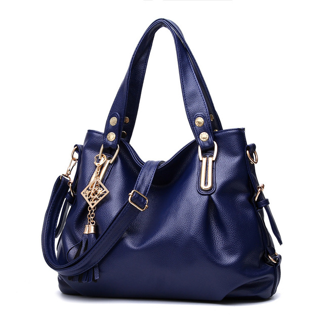 9db794bc1d6 Fashion Designer Women Handbag Female PU Leather Bags Handbags Ladies  Portable Shoulder Bag Office Ladies Hobos Bag Totes