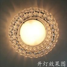 Moderno 35 / 65 cm Foscarini Caboche techo de luces de acrílico de la bola Abajur hogar techo de la lámpara accesorios claro clásica Luminaria