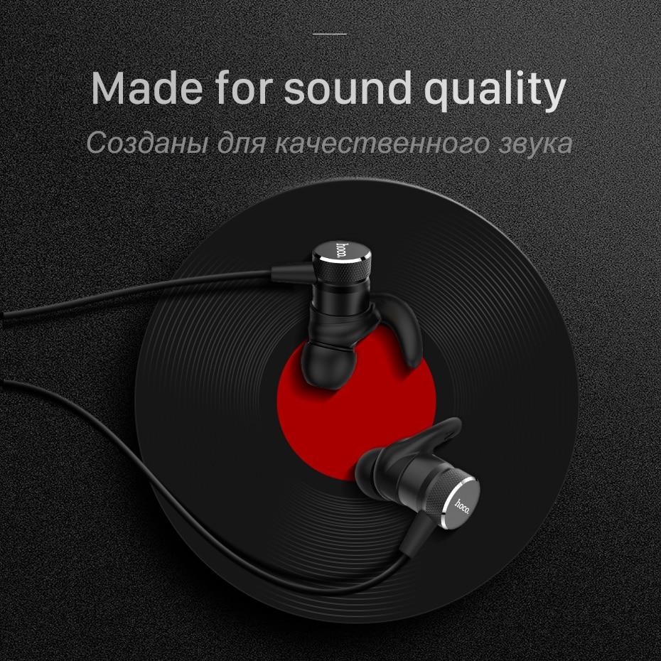 Hoco Magnetic Bluetooth Earphones Wireless Headset With