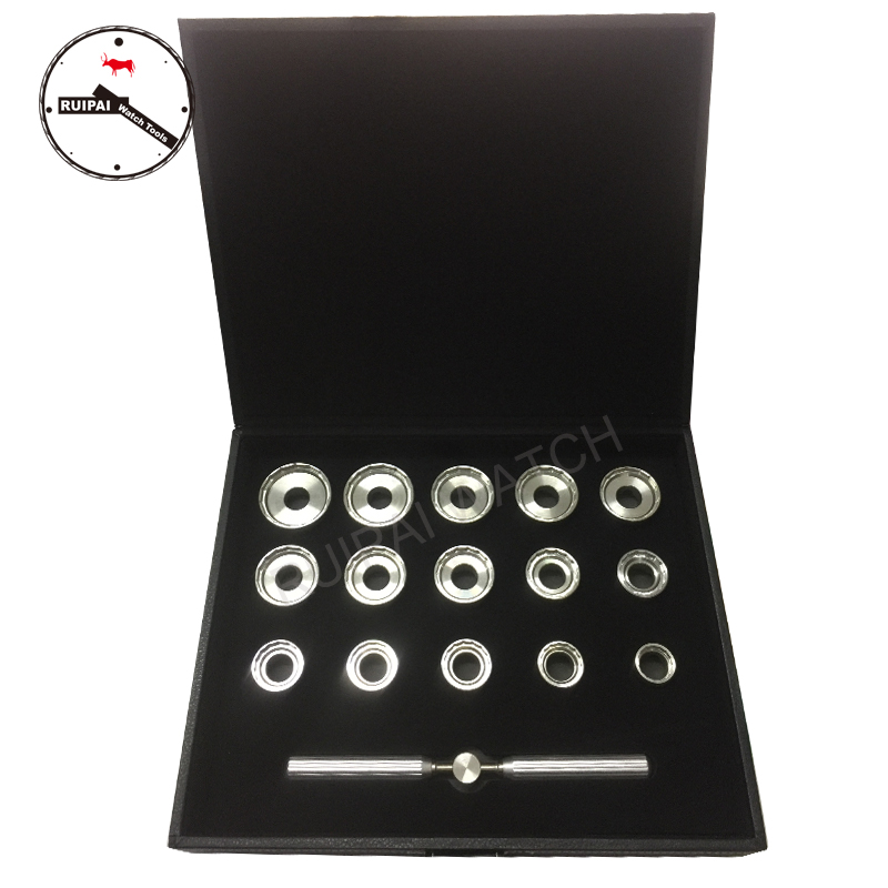 High Quality 19.3mm~44.7mm Stainless Steel Watch Back Case Opener Set for Breitlng Watch, 15pcs assort size Watch Opener set set of 4pcs dies watch case back opener closer for om 4 sizes with handle key
