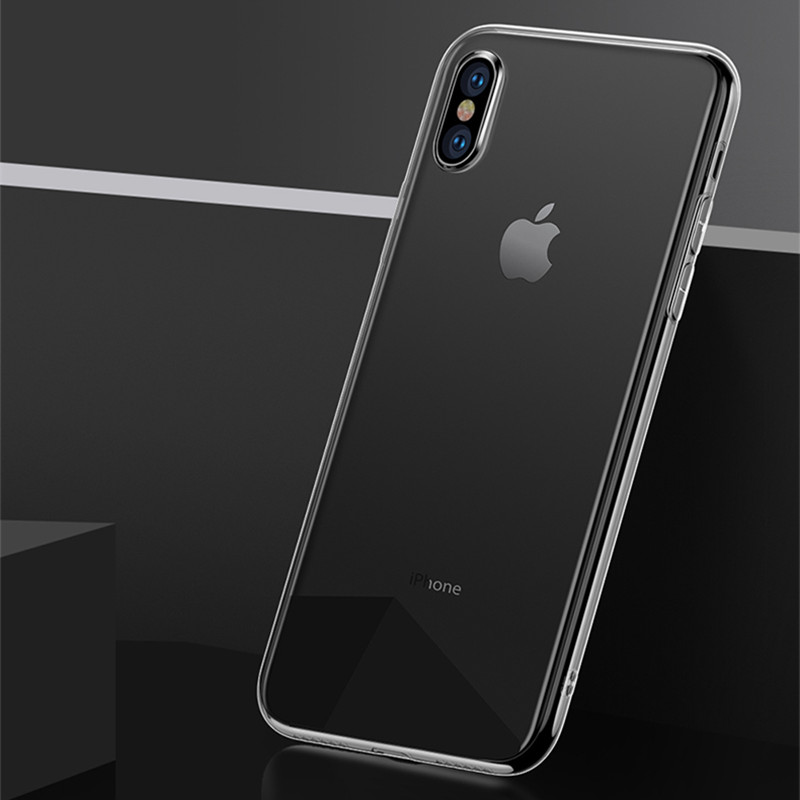 Crystal Clear Soft TPU Silicone Phone Case Caso Coque for iPhone X 8 Plus 7 7 Plus 6 6S 6G Plus 5 5S 5G SE 4 4S 4G Fundas Cover