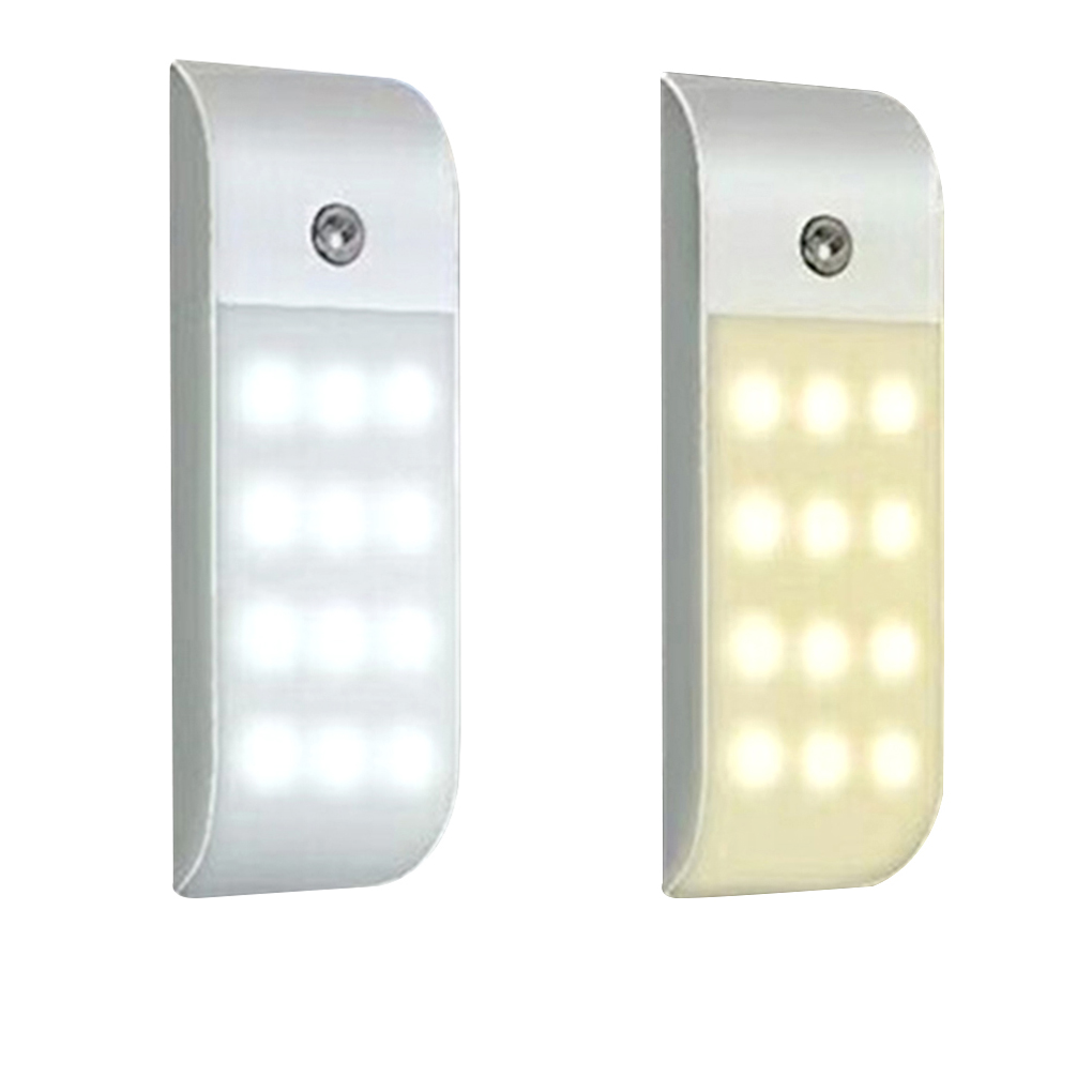 USB Infrared LED Induction Lamp White/Warm Light LED Night Lamp for Cabinet Closet Kitchen