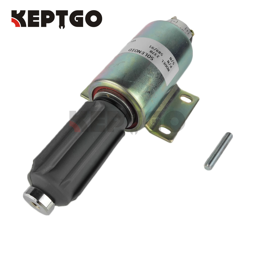 589/91 24v Fuel Stop Solenoid Valve For Perkins 2370 436-2617589/91 24v Fuel Stop Solenoid Valve For Perkins 2370 436-2617