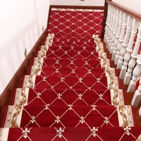 Beibehang 1 компл./13 шт. высококлассные европейский лестницы коврик для ступеньки клей бесплатно нескользящей подножка ковер в коридор жизни выс