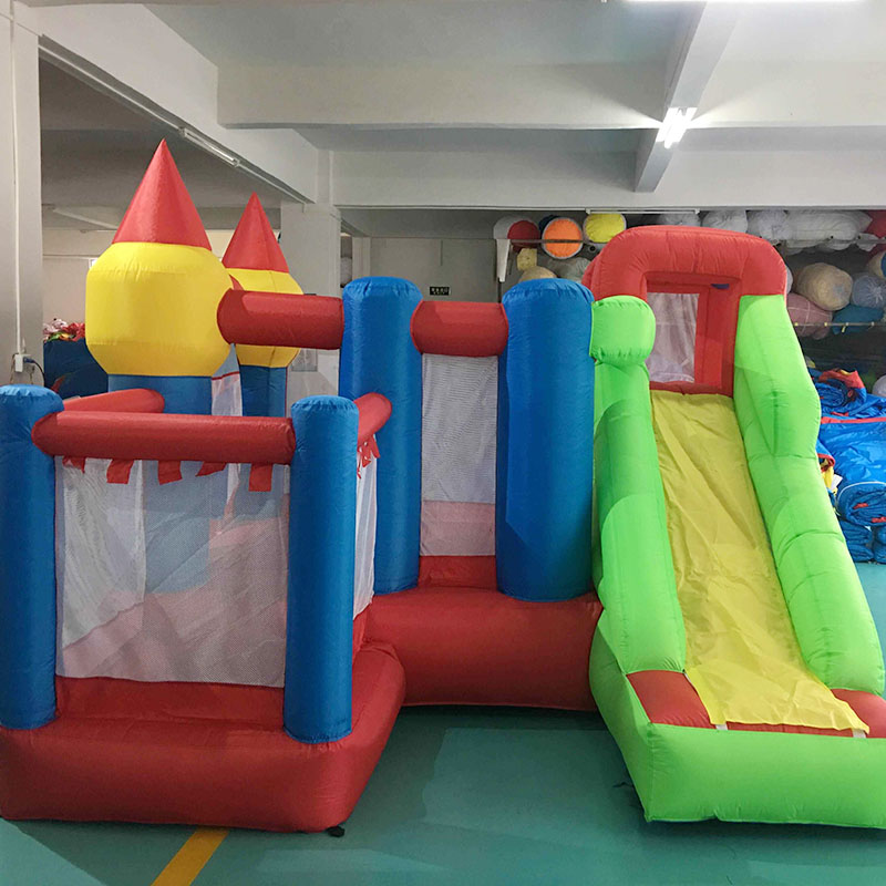 YARD Inflatable Jumping Castle for Kids Inflatable Bouncers with Slides and Ball Pool Sent Free PE Ocean Balls for Gift 2017 summer funny games 5m long inflatable slides for children in pool cheap inflatable water slides for sale
