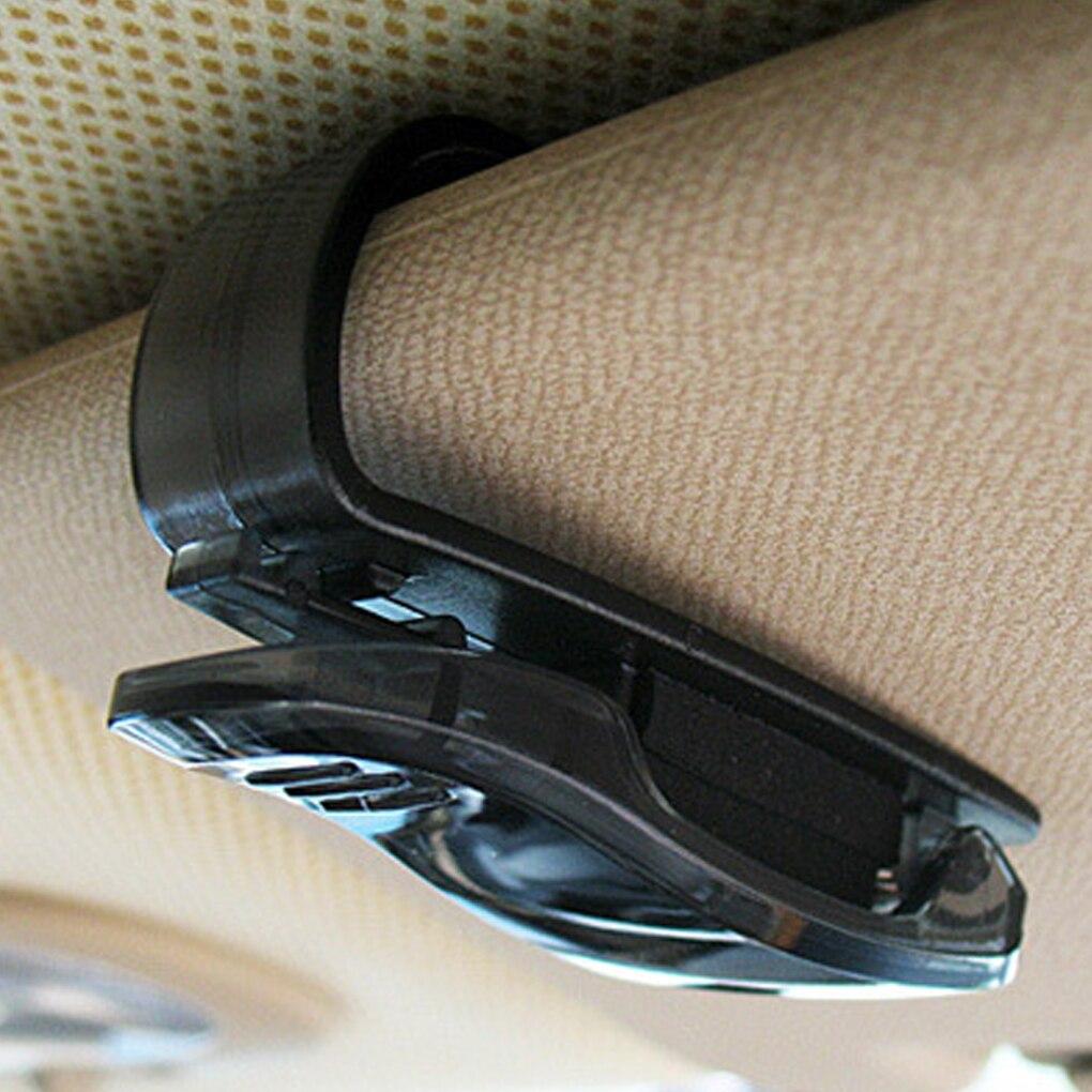 ABS Voiture V/éhicule Pare-Soleil Lunettes De Soleil Lunettes Lunettes Titulaire Carte Billet Stylo Pince Automobile Accessoires