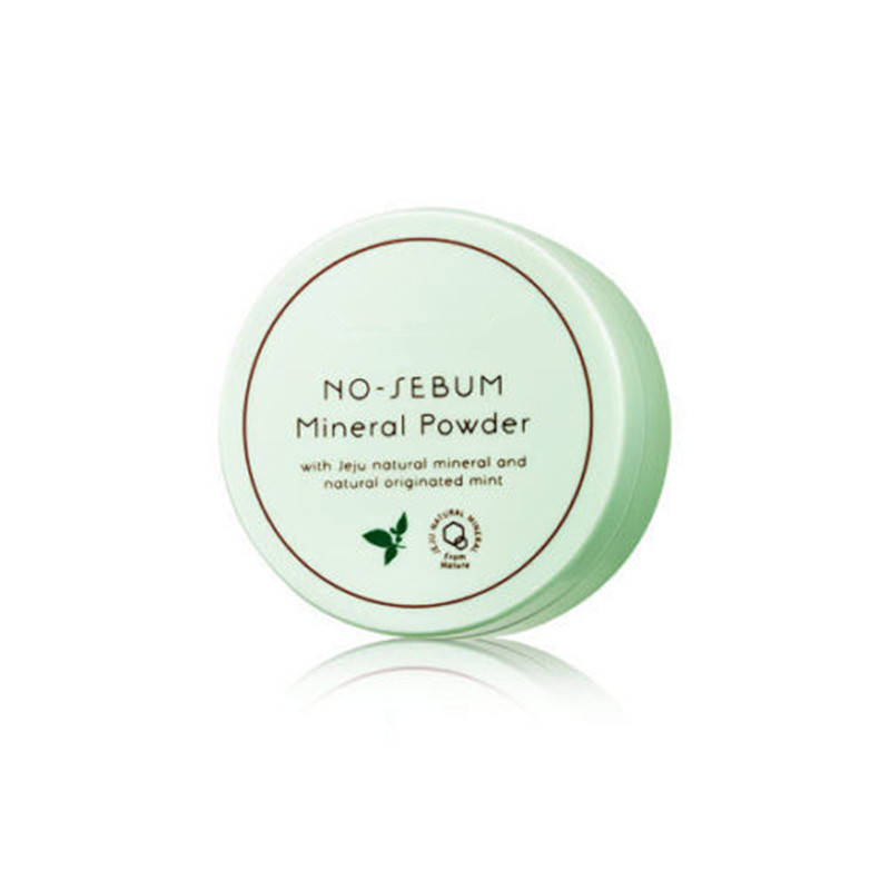 ZANABILI Original Korea No Sebum Mineral Powder 5g Natural Mineral Powder Makeup Face Oil Control Smooth Repair Concealer clinique mineral powder makeup for face spf30