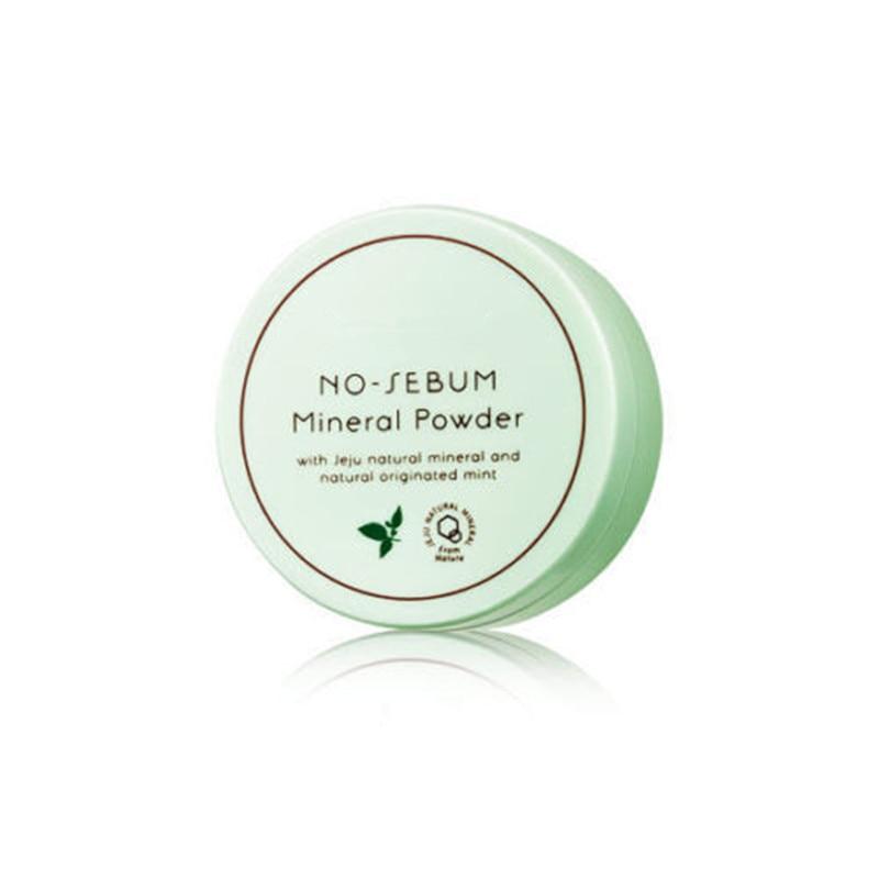 ZANABILI Original Korea No Sebum Mineral Powder 5g Natural Mineral Powder Makeup Face Oil Control Smooth Repair Concealer
