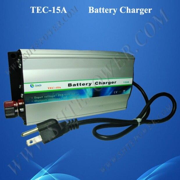 AC 220V 230V 240V Lead Acid or Gel 15A Charger For Car Battery 12V hb 2706105 27 6v1 5a 13 9w us plug charger for lead acid battery black ac 100 240v