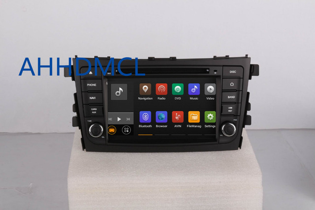 Car CD Stereo Radio Audio DVD Player Android 5.1 GPS Navigation For Suzuki Celerio 2014 2015 2016 2017 Free Shipping